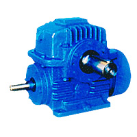 CWU(125-500) Arc Gear Cylindrical Worm Gearbox