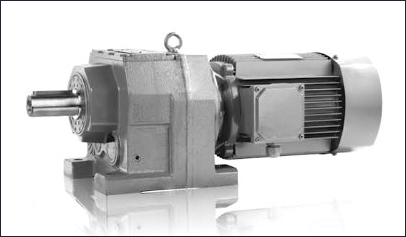 FR Foot Mounted Inline-Helical-Geared-Motors